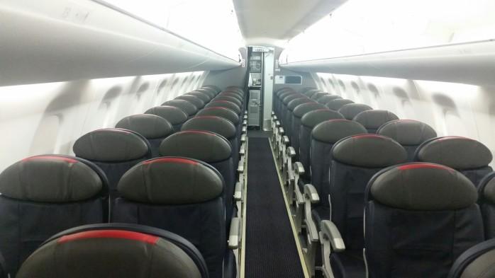 American Embraer 175 Cabin