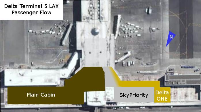 Delta Terminal 5 at LAX