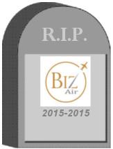 BizAir Shuttle Tombstone
