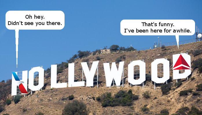 American Airlines Goes Hollywood