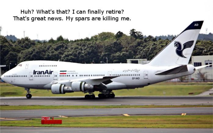 Iran Air Retires