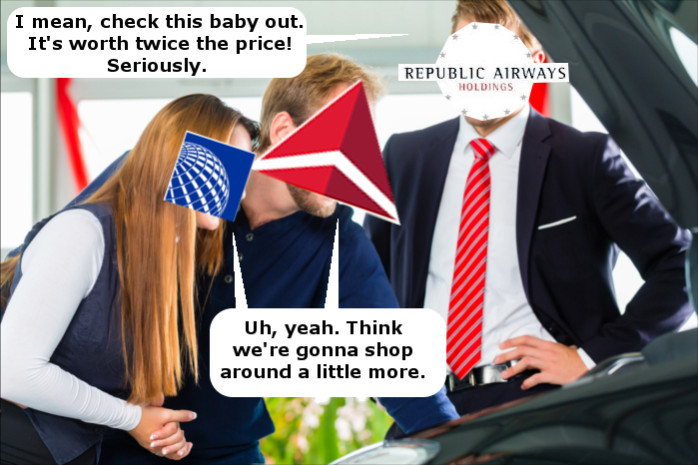 Republic Shopping in Bankruptcy