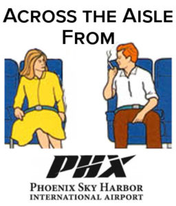 Across the Aisle Phoenix Airport