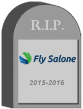FlySalone Tombstone