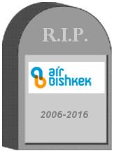 Air Bishkek Tombstone