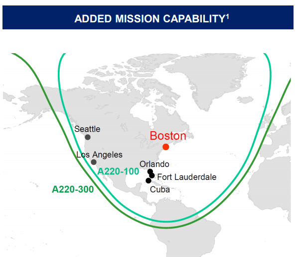 JetBlue Supersizes Itself With A220 Order, A321 Upgauge | Cranky Flier