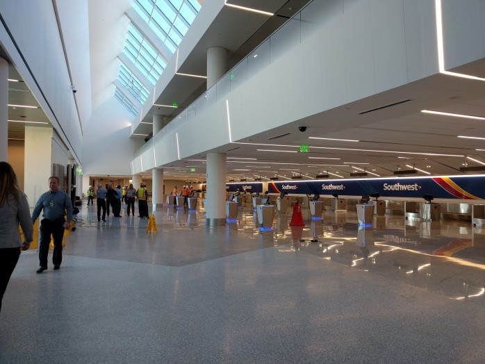 New Southwest LAX Ticket Counter