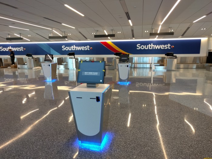 Southwest New Kiosks LAX
