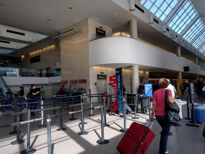 Current Security Screening LAX Terminal 1
