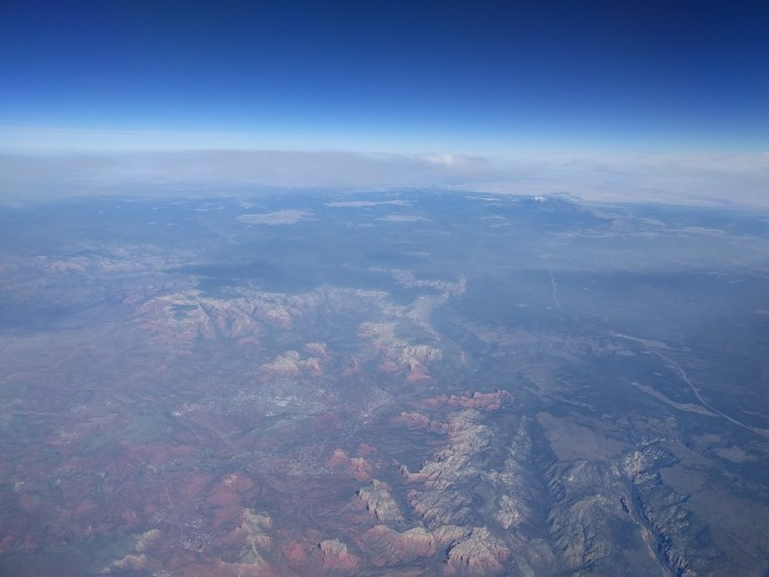 Sedona From Altitude