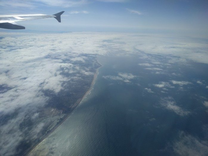JetBlue Over the Coast