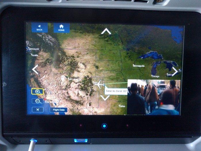 Delta 737-900ER Map