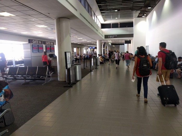 LAX Terminal 1 Old Gates