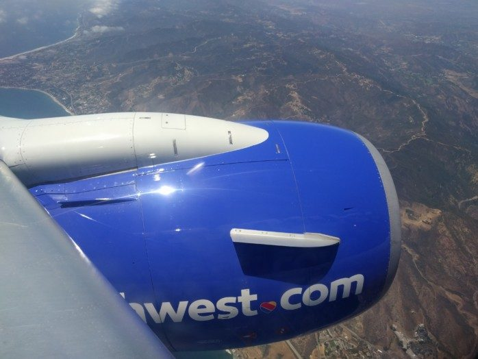 Southwest New Livery Engine Cowling