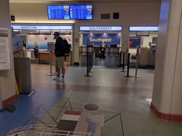 Southwest Ticket Counter Long Beach