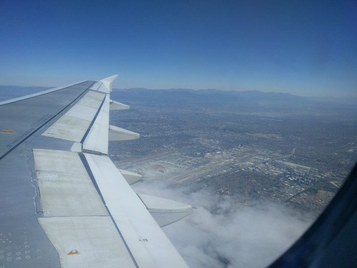 Over LAX