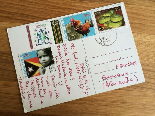 Postcard from Timor Leste