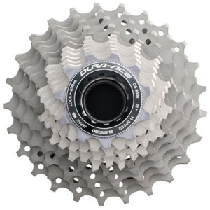 Shimano Cassette, CS-R9100 11-30T, Dura-Ace, 11-Speed, 11-12-13-14-15-17-19-21-24-27-30T