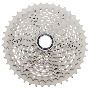 Shimano Cassette, CS-M4100, 11-42T, Deore, 10-Speed, 11-13-15-18-21-24-28-32-37-42T