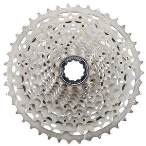 Shimano Cassette, CS-M5100, 11-42T, Deore, 11-Speed, 11-13-15-17-19-21-24-28-32-37-42T