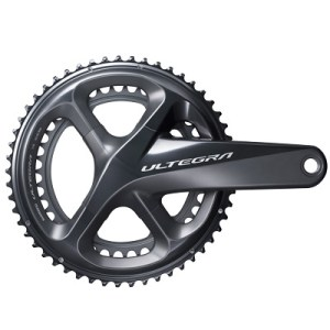 Shimano CrankSet, FC-R8000, Ultegra, for Rear 11-Speed, HollowTECH-2, 170MM 53-39T, w/o BB