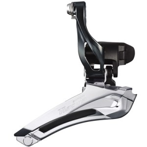 Shimano Front Derailleur, FD-4700, Tiagra 31.8MM Band(w/28.6MM Adapter), for 10-Speed, w/TL-FD68