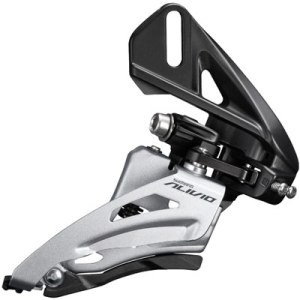 Shimano Front Derailleur, FD-M3120-D, Alivio, for 2X9, Side-Swing, Front-Pull, Direct Mount, CS-Angle: 64-69, for TOP Gear: 36T, CL: 48.8/51.8MM