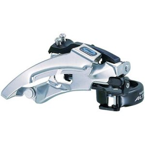 Shimano Front Derailleur, FD-M310, Top-Swing DUAL-Pull Band-Type 34.9MM(w/31.8 & 28.6MM Adapter) for 42/48TCS-Angle:66-69, CL:47.5/50MM
