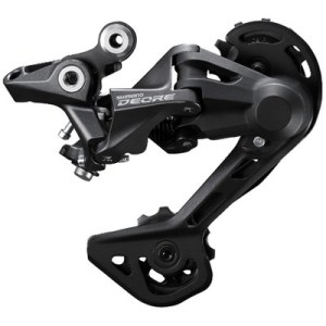 Shimano Rear Derailleur, RD-M4120, Deore, SGS 10/11-Speed, Top Normal, Shadow Design, Direct Attachment (Direct Mount Compatible)