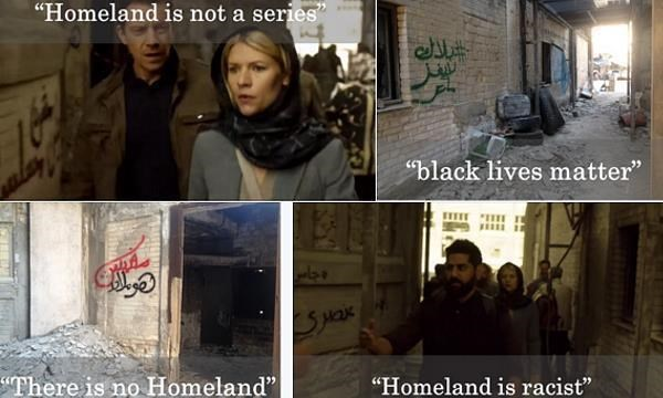 """Homeland"" and a graffiti artist gone rogue"