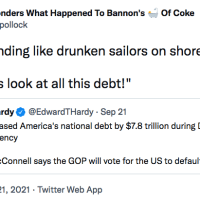 GOP lying-liars spend like drunken sailors then stick Democrats with fallout (UPDATED)