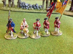 British Line Command - Marching