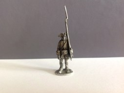 Spanish Line Infantry - stood to attention