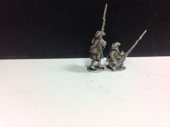 French Infantry - Standing at Ready