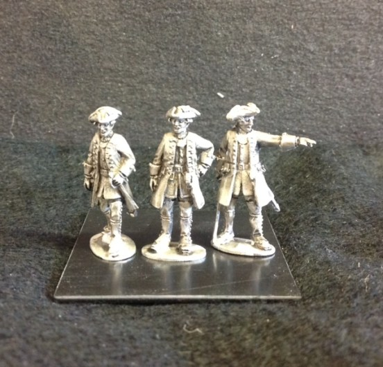 Savoia Infantry Officer standing and Pointing
