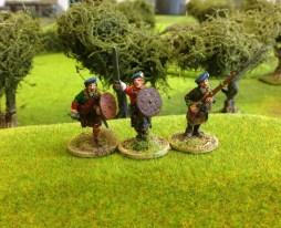 Highlanders Charging