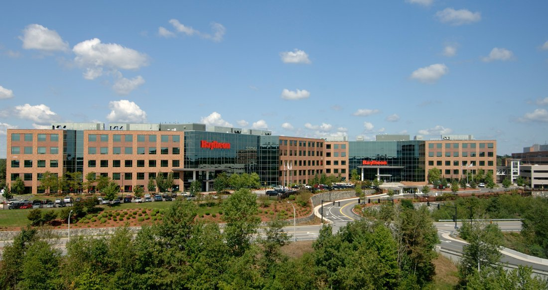 Image result for photo of the raytheon building