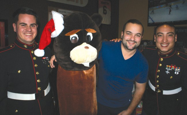 Thirsty Beaver Local Companies Support Toys For Tots