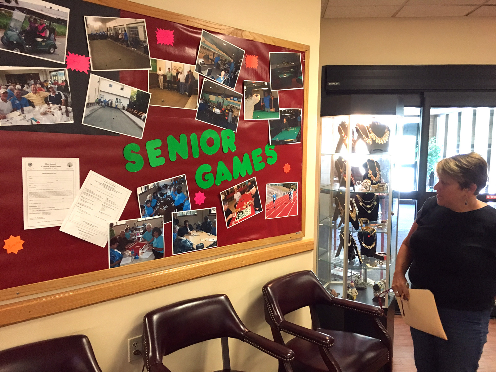 chair games for seniors summer cushions enrichment center ready to ring in 22nd senior cranston herald