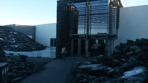 Entrée du Blue Lagoon - Islande