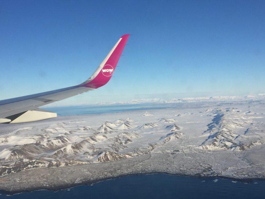 L'Islande vu du ciel