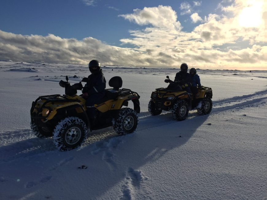Balade en Quad - Islande