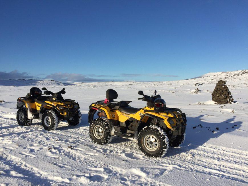Les quad - Islande