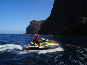 Jet ski Tenerife Los Gigantes