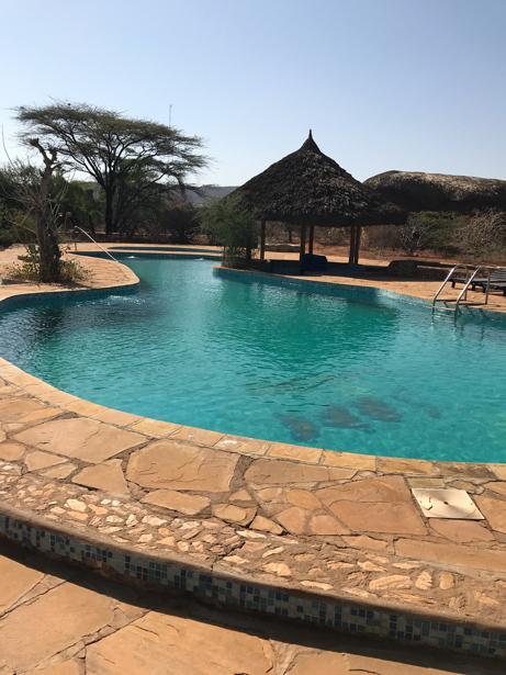 hôtel piscine Kenya - Samburu