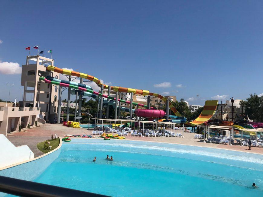 Tunisie en famille all Inclusive: l'aqua Park de Mahdia