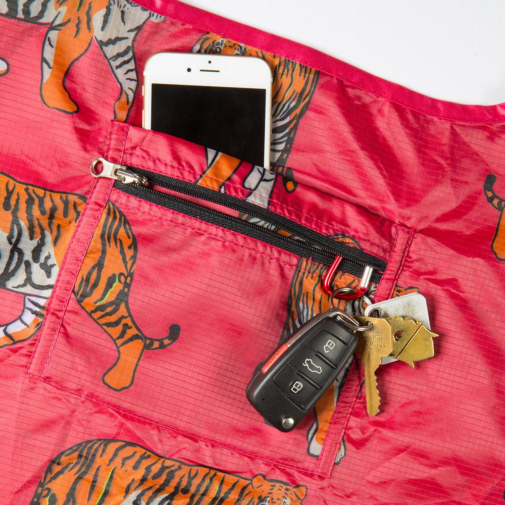 CrapChute Bags - Pocket Detail