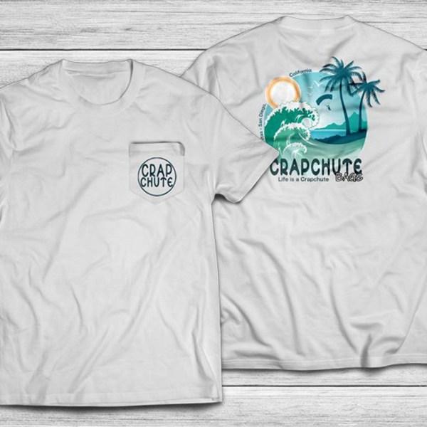 Crapchute - Men's Beach Shirt