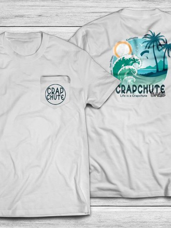 Crapchute - Men's Beach Shirt
