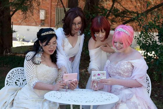 Awesome Gamer-Geek Lesbian Wedding  Boing Boing-5258